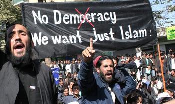 2848110571_SignNoDemocracyJustIslam_xlarge