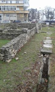 Stradă din Tomisul secolului IV. perioadă în care are loc istoria noastră.