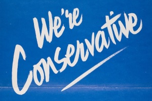 We're Conservative